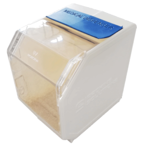 PS front loader dispenser blue