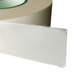 PS packing paper with serrated edge